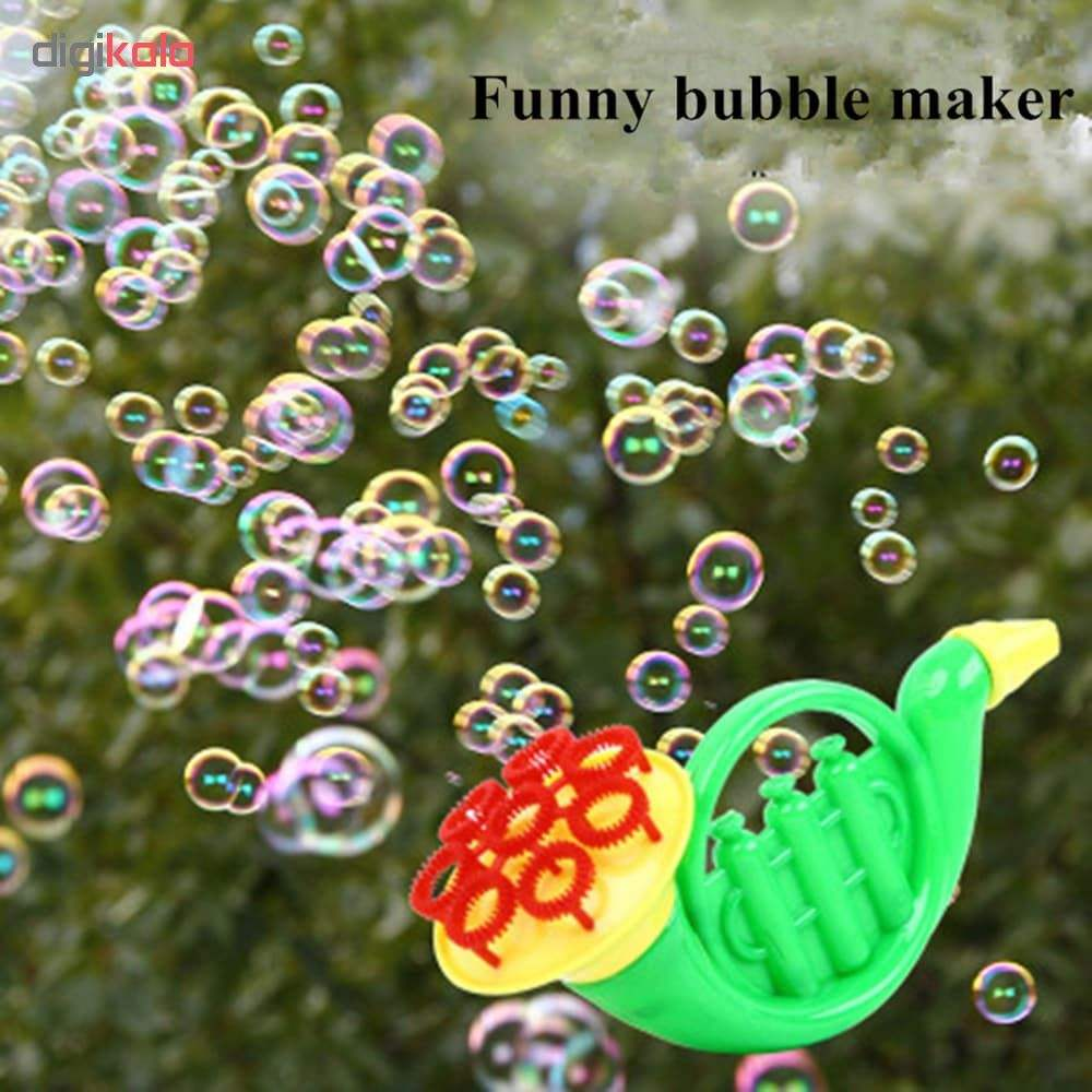 شیپور حباب ساز مدل Trumpet Bubble Maker main 1 2