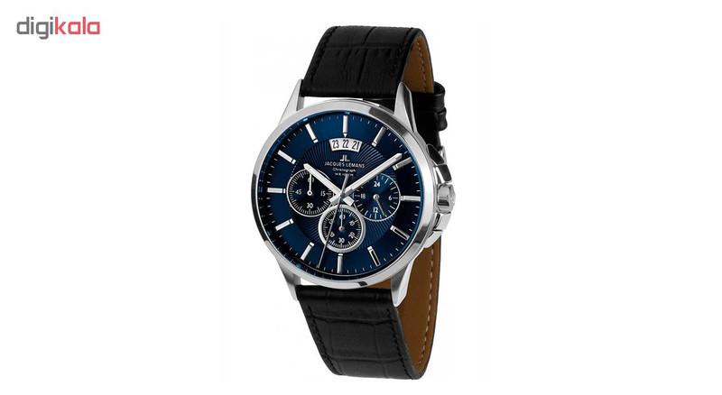 ساعت مچی عقربه ای مردانه ژاک لمن مدل 1-1542G