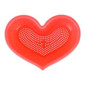 تفاله گیر مهروز طرح قلب مجموعه ۲ عددی کد DOP-001