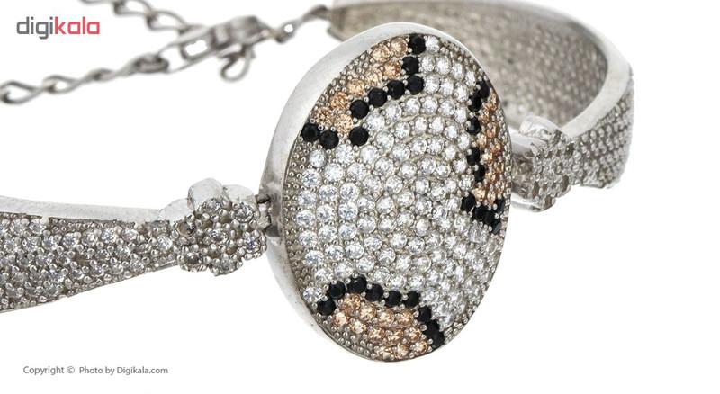 دستبند نقره مایا مدل MSB204