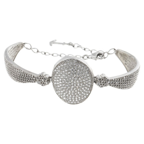 دستبند نقره مایا مدل MSB205