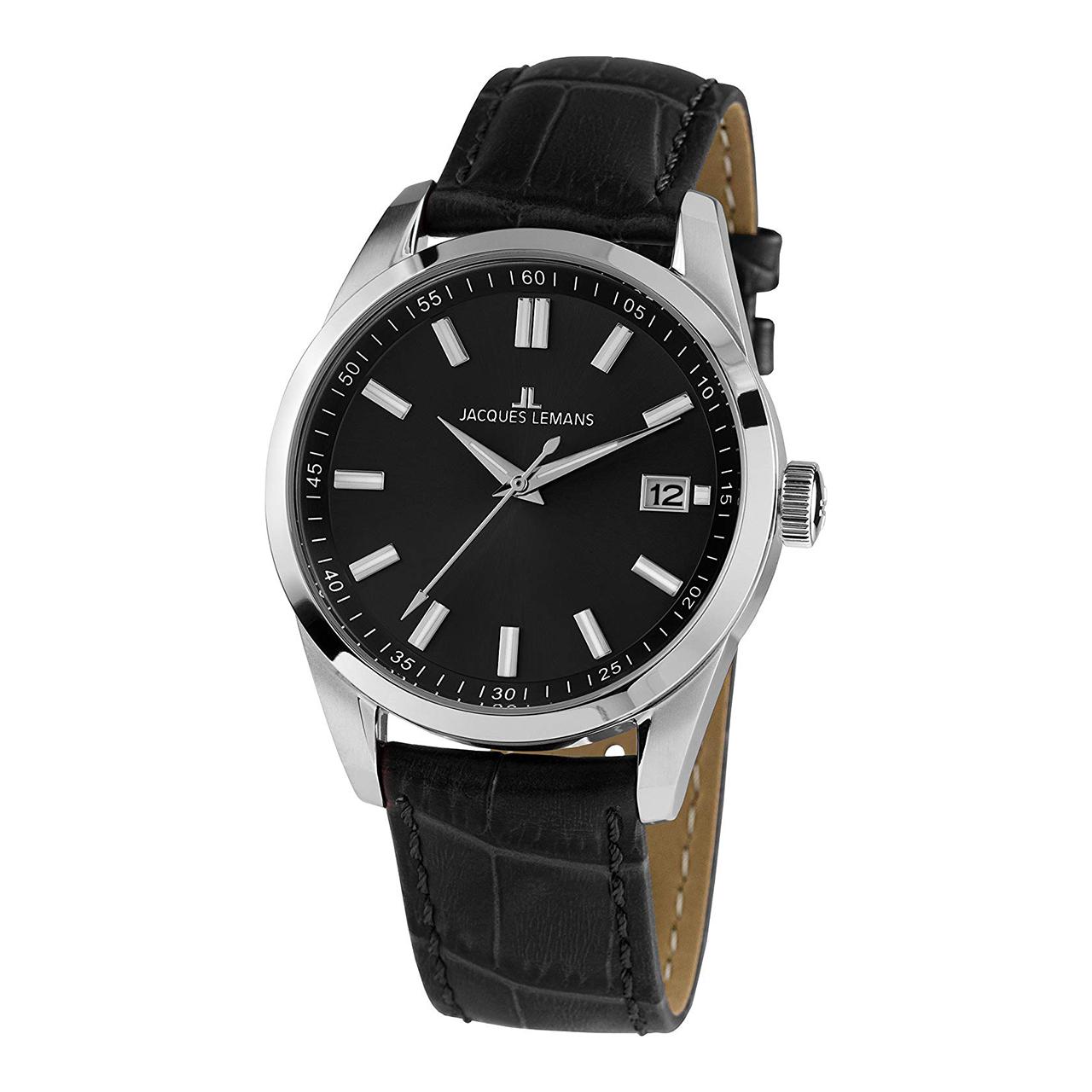 ساعت مچی عقربه ای مردانه ژاک لمن مدل 1-1868E