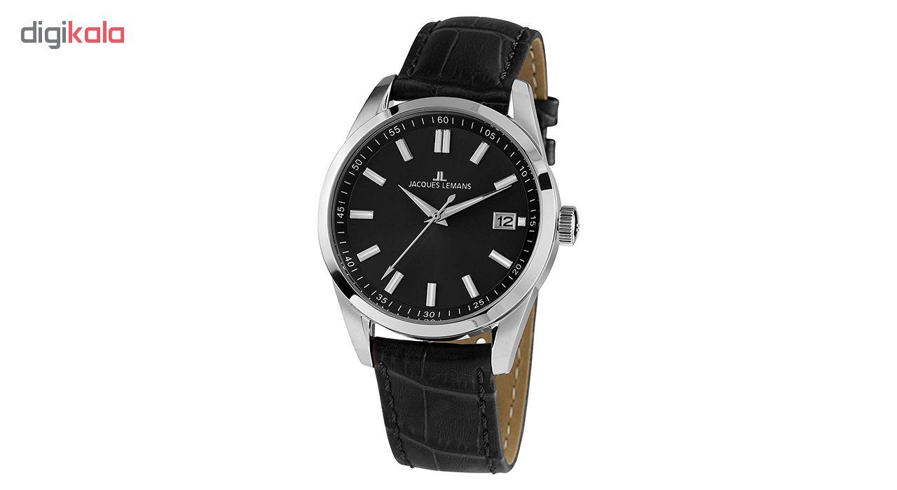 کد تخفیف                                      ساعت مچی عقربه ای مردانه ژاک لمن مدل 1-1868E