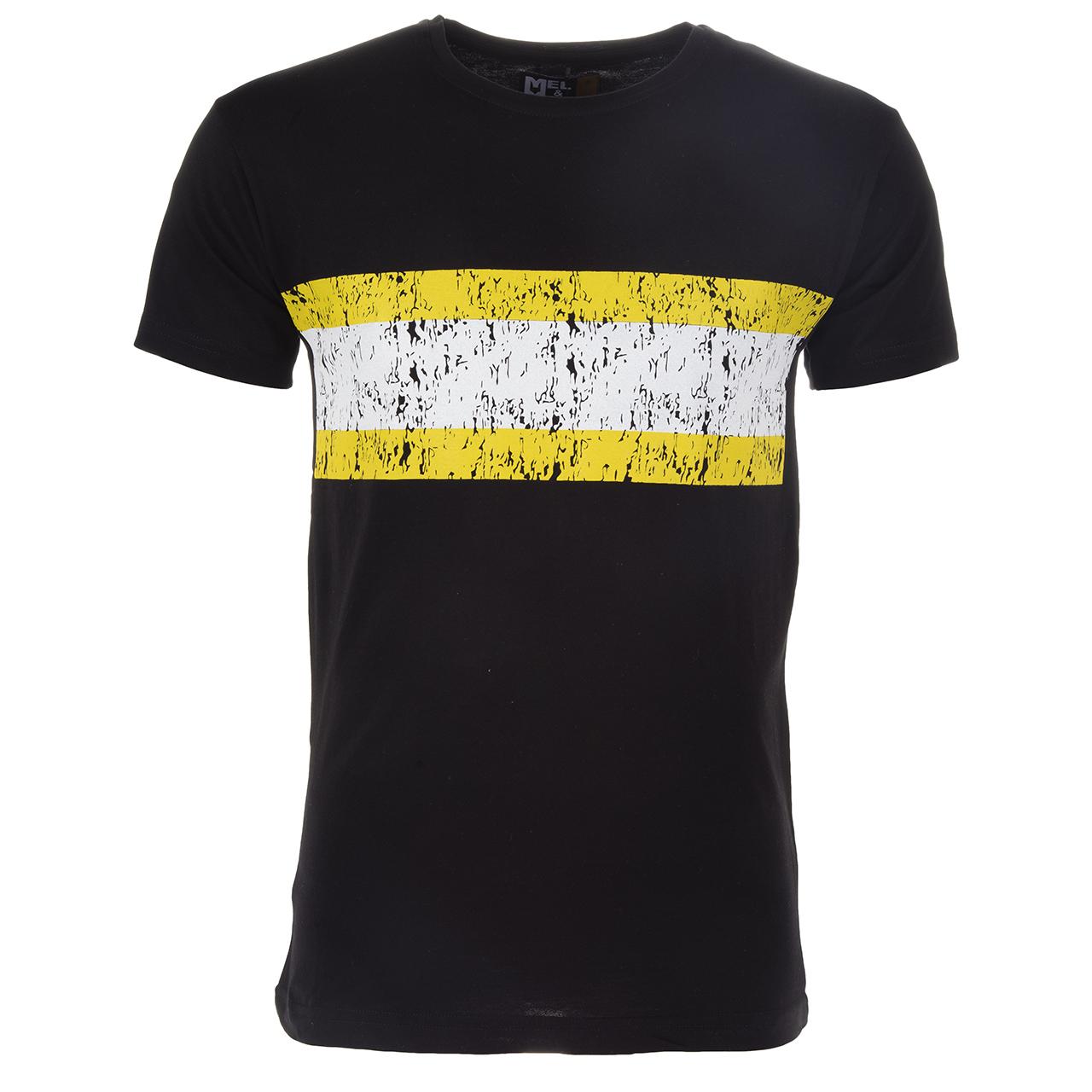 قیمت تی شرت مردانه مل اند موژ مدل MTG201901-1