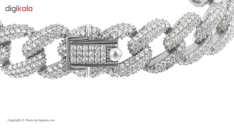 دستبند نقره مایا مدل MSB207