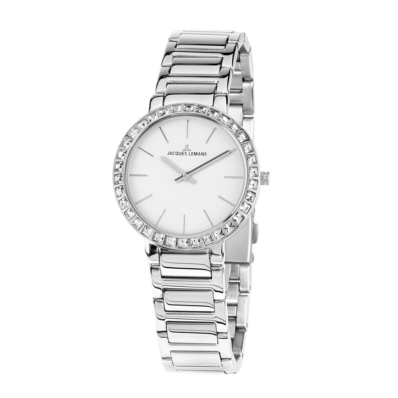 کد تخفیف                                      ساعت مچی عقربه ای زنانه ژاک لمن مدل 1-1843.1A