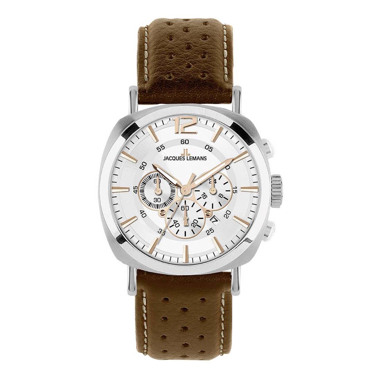 ساعت مچی عقربه ای مردانه ژاک لمن مدل 1-1645D