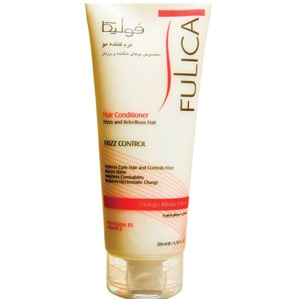 نرم کننده فولیکا مخصوص موهای شکننده و وز دار حجم 200 میلی لیتر