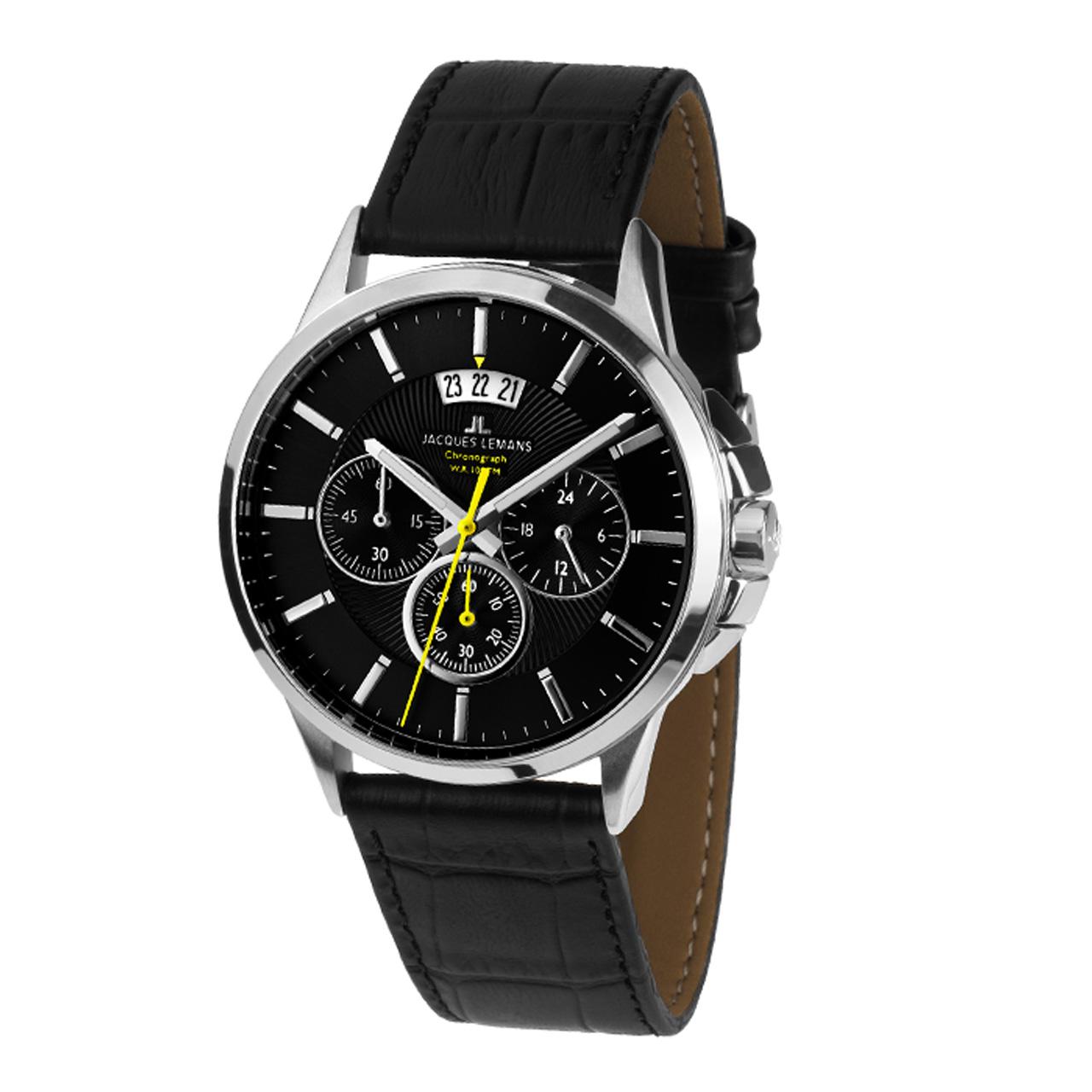 ساعت مردانه برند ژاک لمن مدل 1-1542A