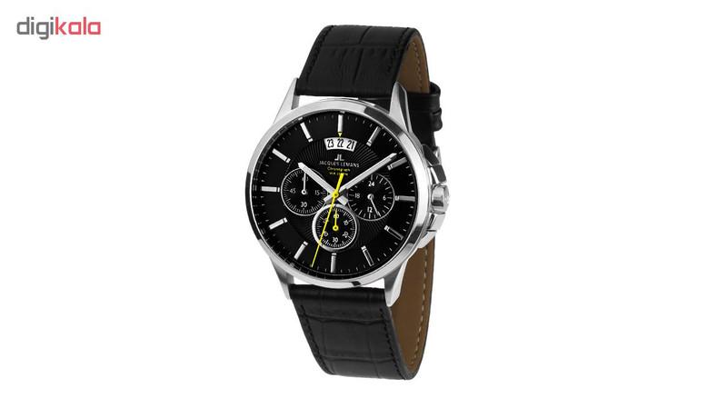 ساعت مچی عقربه ای مردانه ژاک لمن مدل 1-1542A