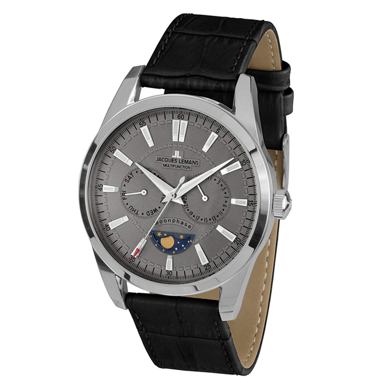 ساعت مچی عقربه ای مردانه ژاک لمن مدل 1-1804I