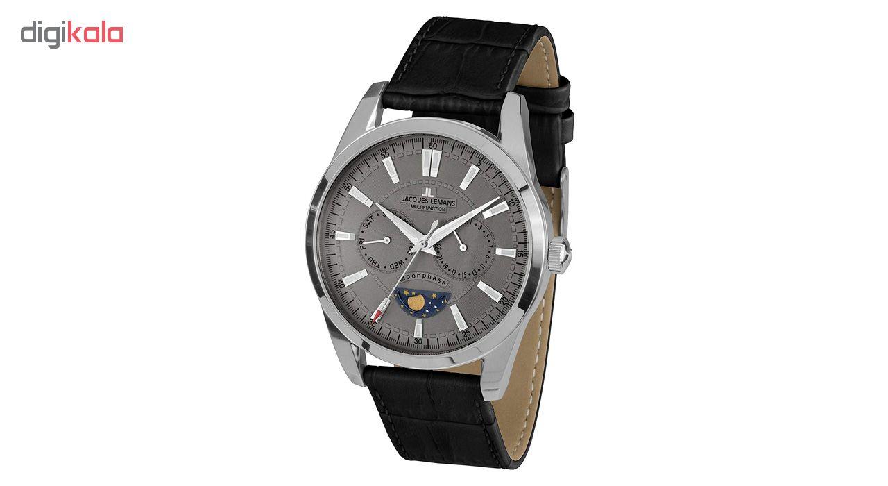 کد تخفیف                                      ساعت مچی عقربه ای مردانه ژاک لمن مدل 1-1804I
