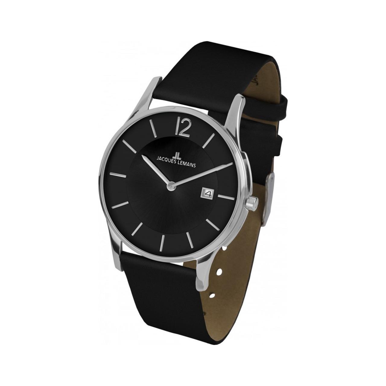 ساعت مچی عقربه ای مردانه ژاک لمن مدل 1-1850A 54