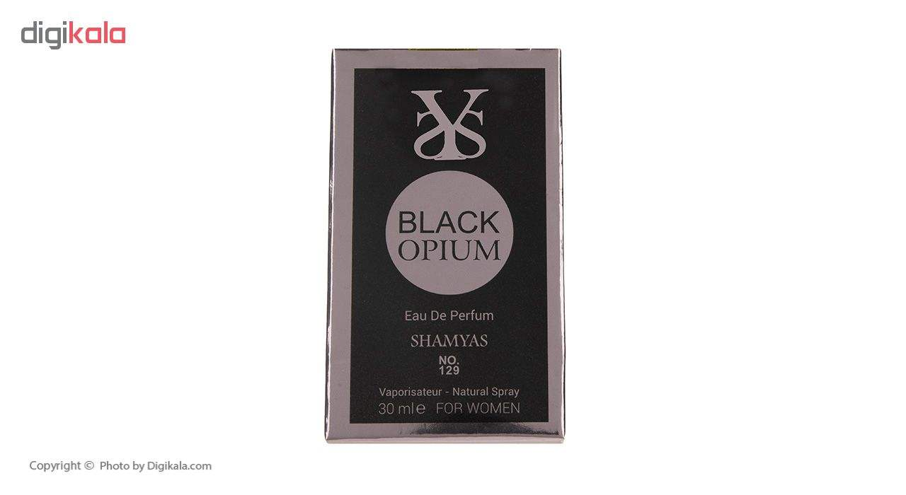 ادو پرفیوم زنانه شمیاس مدل Black Opium حجم 30 میلی لیتر main 1 4