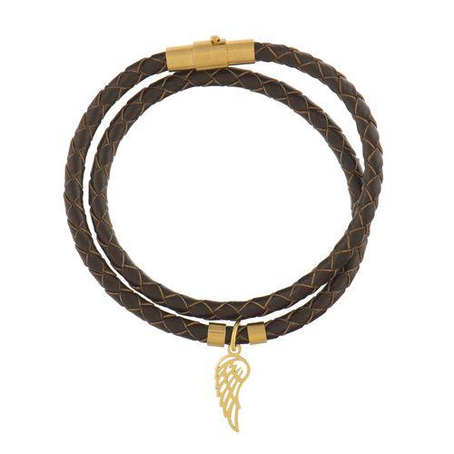 دستبند طلا 18 عیار رزا مدل BW48