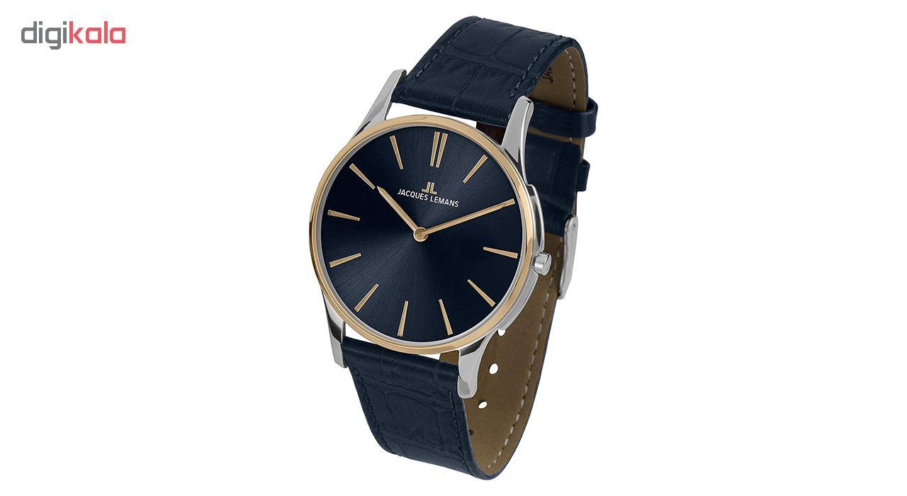 کد تخفیف                                      ساعت مچی عقربه ای مردانه ژاک لمن مدل 1-1938G