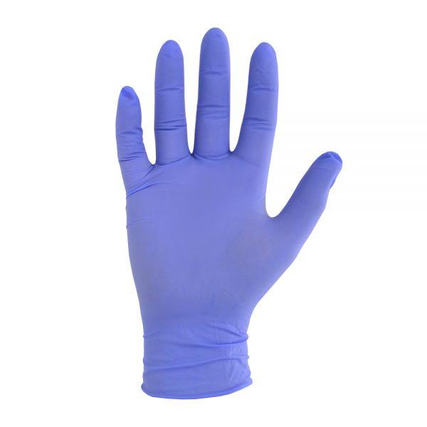 دستکش یکبار مصرف مدل نیتریل بسته 100عددی