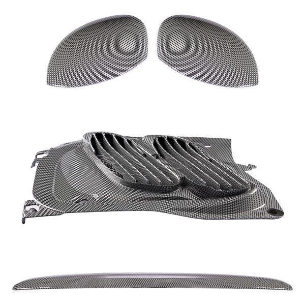 مجموعه تریم استیلا مدل Honor مناسب برای پژو 206