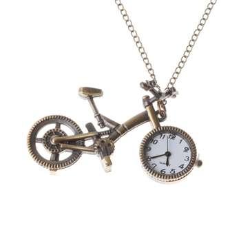 ساعت گردنبندی طرح دوچرخه کد 122 |