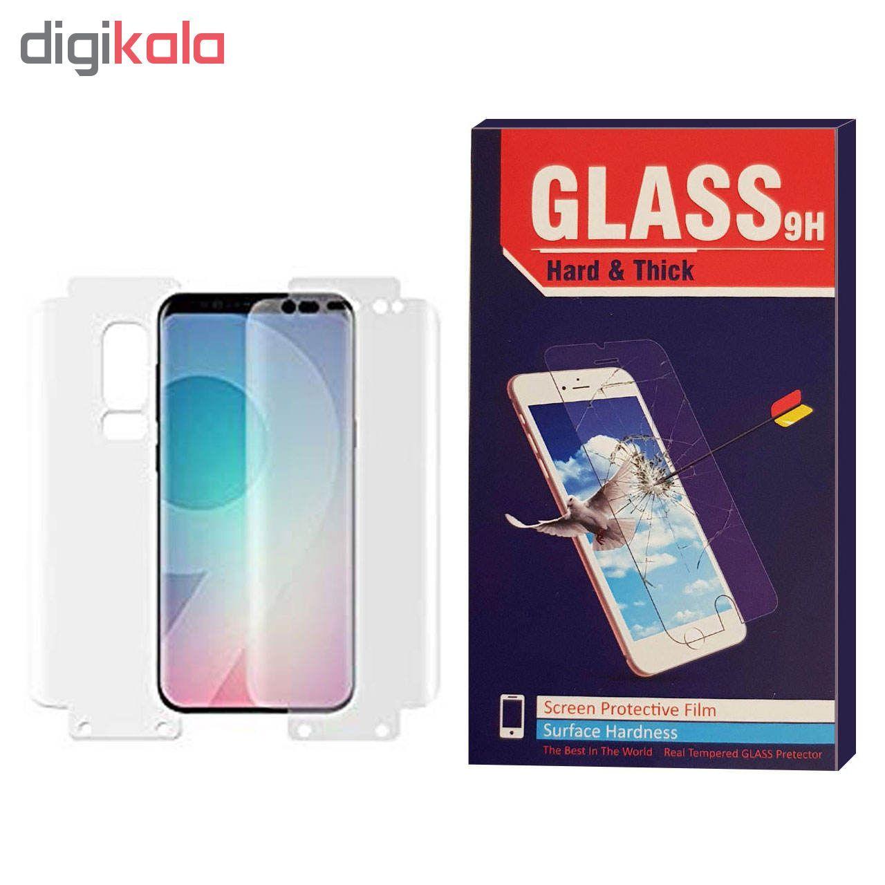 محافظ صفحه نمایش و پشت Hard and thick مدل CR-001 مناسب برای گوشی موبایل سامسونگ  Galaxy S9 plus main 1 1