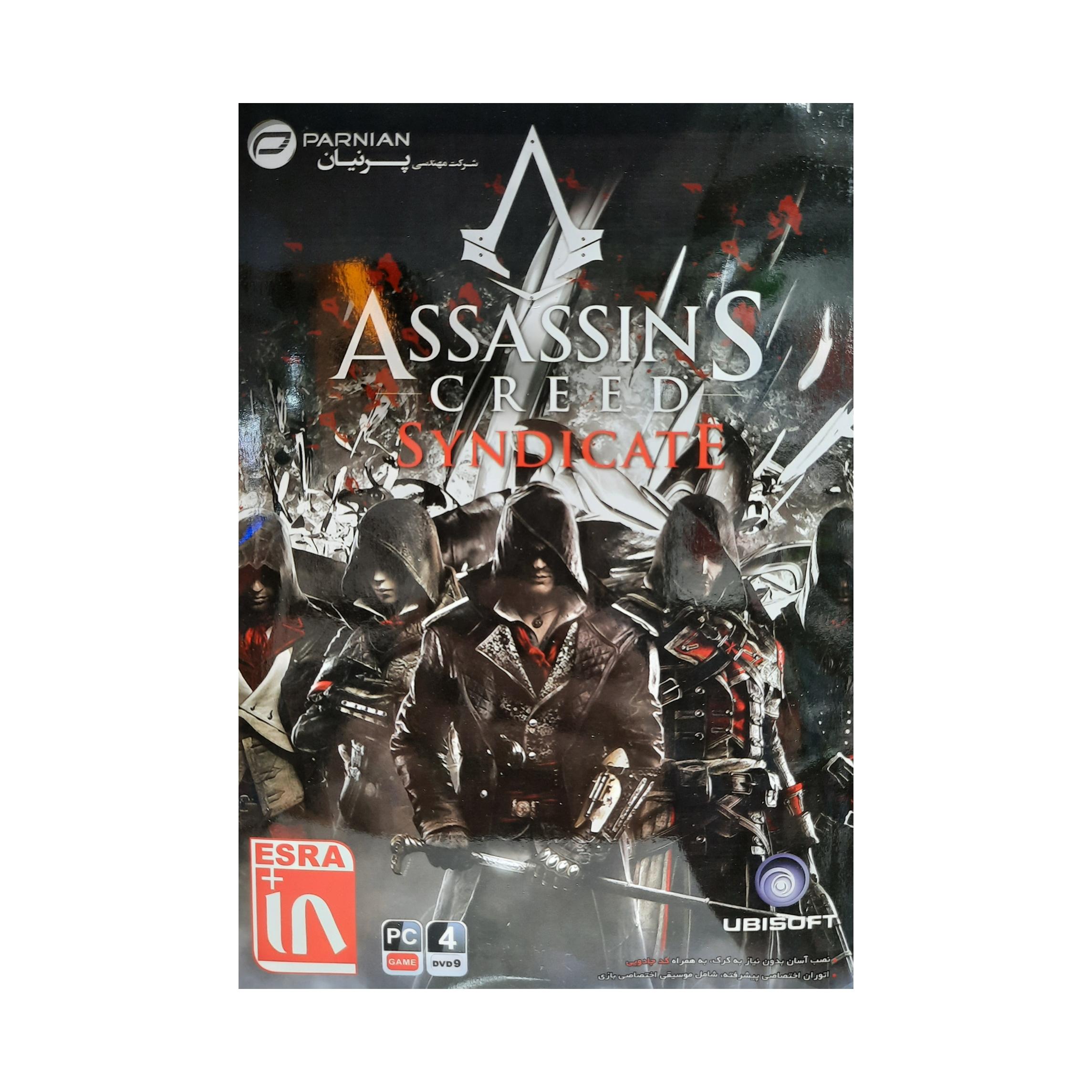 بازی Assassins creed Syndicate مخصوص pc