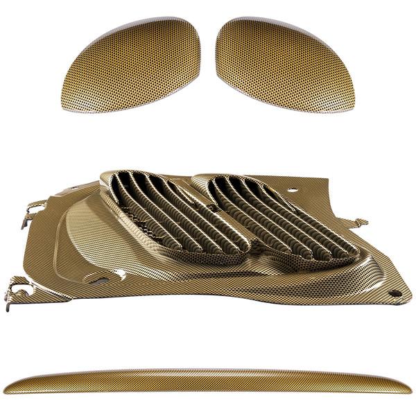 مجموعه تریم استیلا مدل Royal مناسب برای پژو 206
