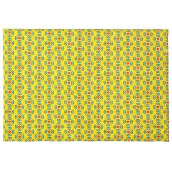 فرش پارچه ای گوشه سایز 50 × 70 سانتی متر کد 32