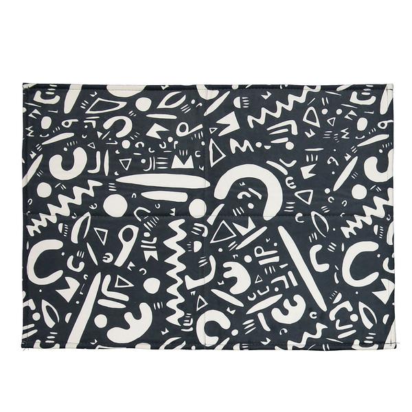 فرش پارچه ای گوشه سایز 50 × 70 سانتی متر کد 20