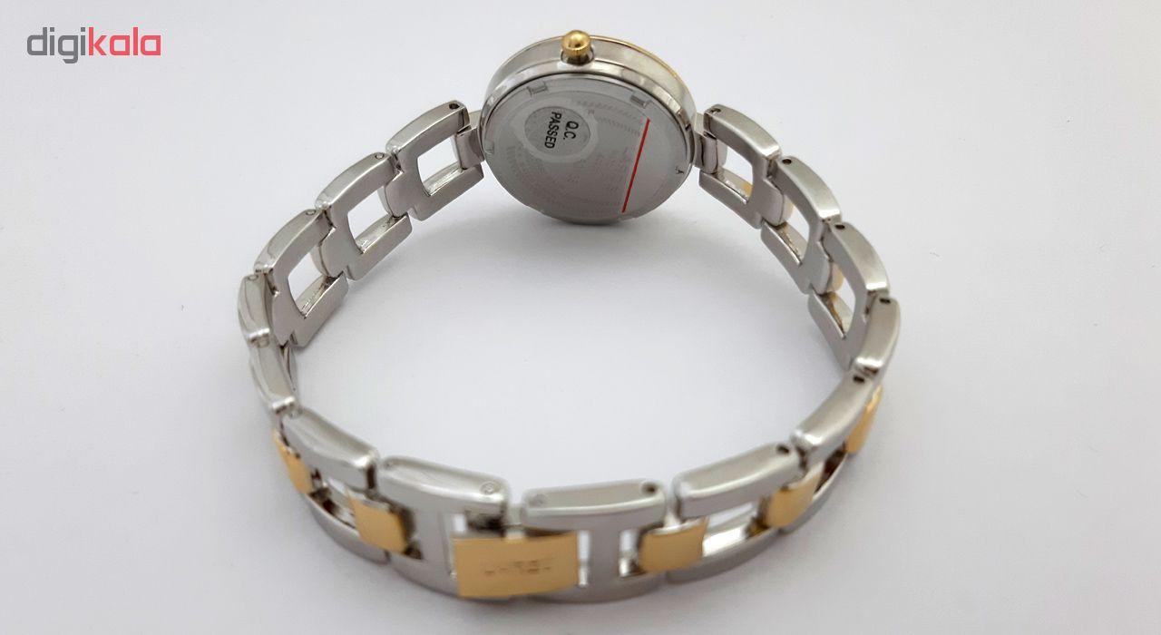 ساعت زنانه برند لاروس مدل 1117-80138 به همراه دستمال مخصوص برند کلین واچ