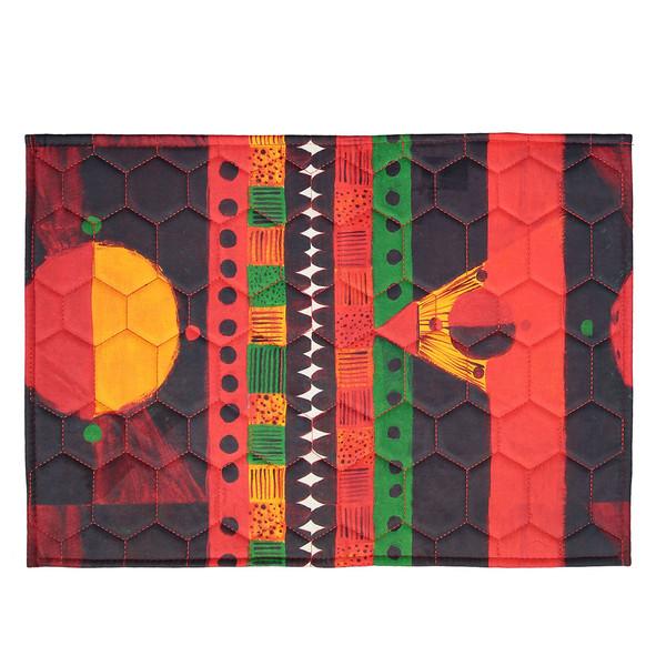 فرش پارچه ای گوشه سایز 50 × 70 سانتی متر کد 30