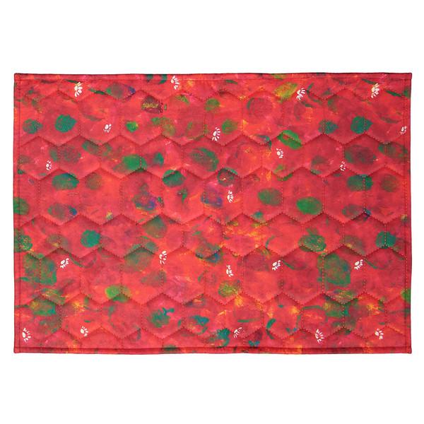 فرش پارچه ای گوشه سایز 50 × 70 سانتی متر کد 34