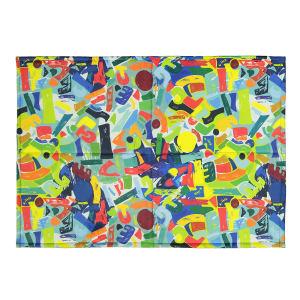 فرش پارچه ای گوشه سایز 50 × 70 سانتی متر کد 03