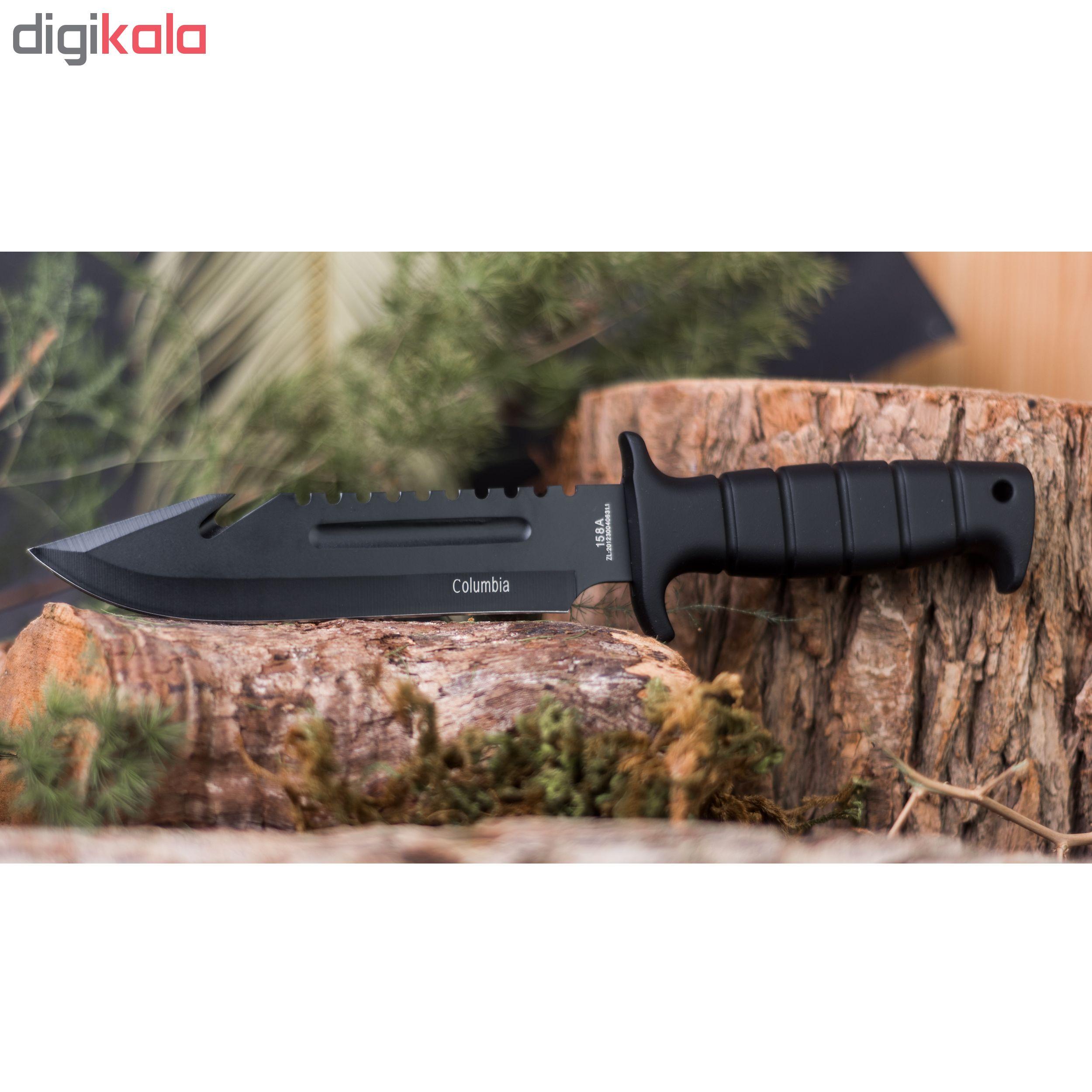 چاقو سفری کلمبیا مدل 158A main 1 7