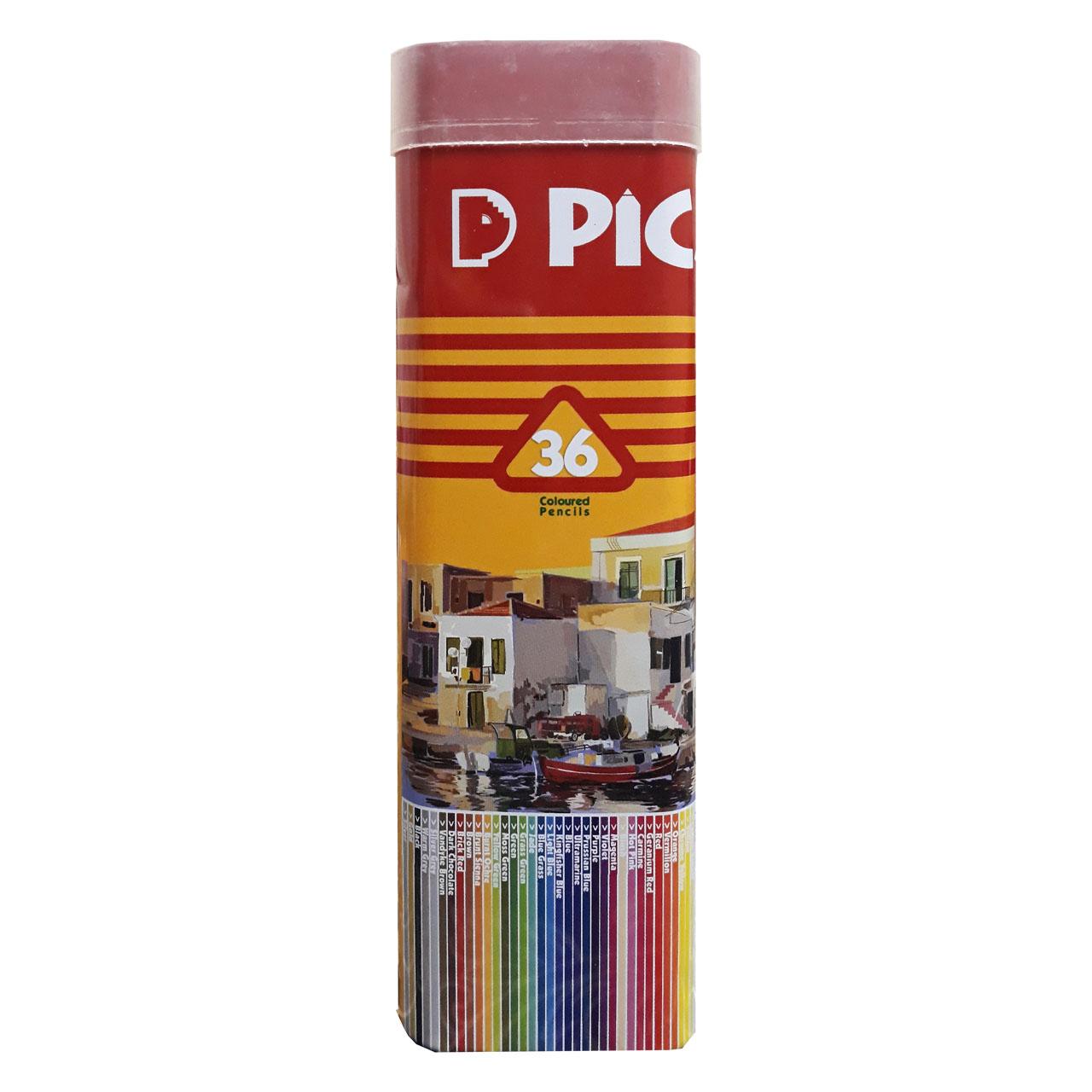 مدادرنگی 36 رنگ پیکاسو مدل Super Writer کد 98