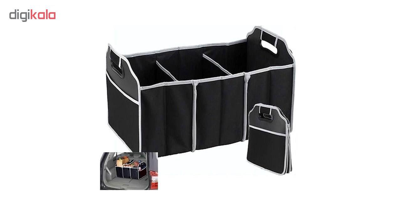 اورگانایزر و جعبه نظم دهنده صندوق عقب خودرو مدل 667