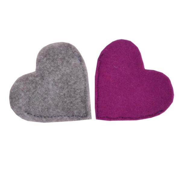 بوک مارک طرح قلب 1 بسته 2 عددی