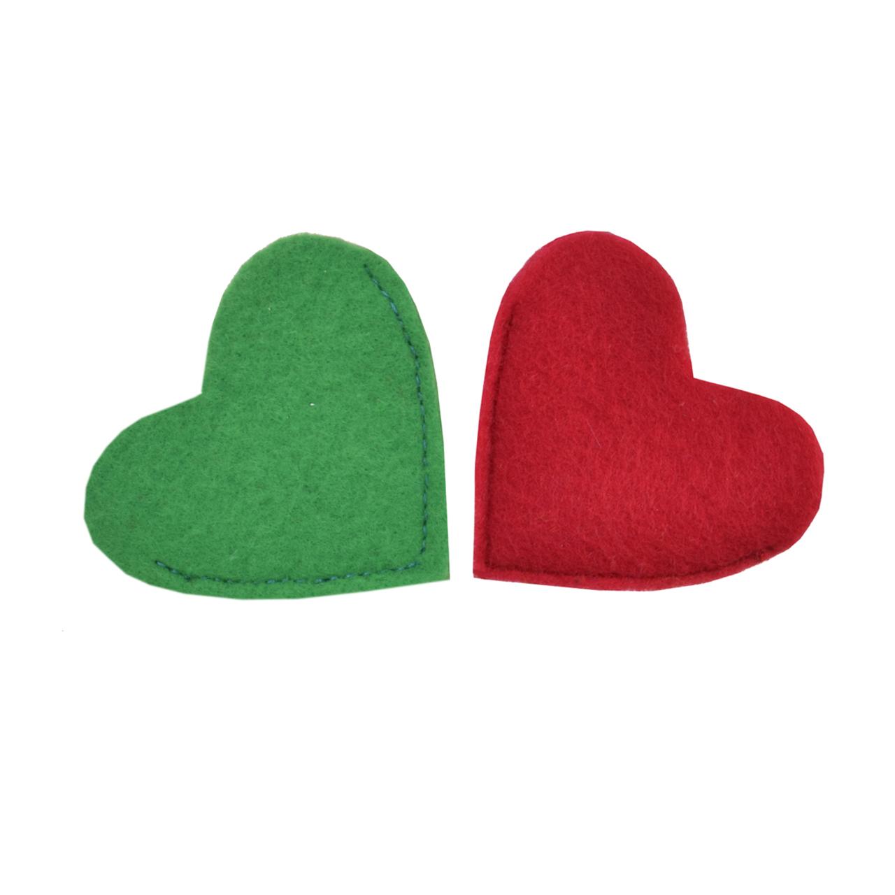 بوک مارک طرح قلب 2 بسته 2 عددی