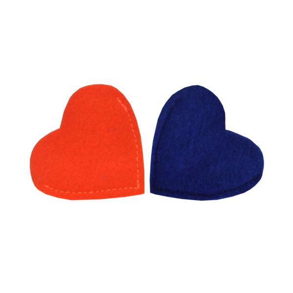 بوک مارک طرح قلب 3 بسته 2 عددی