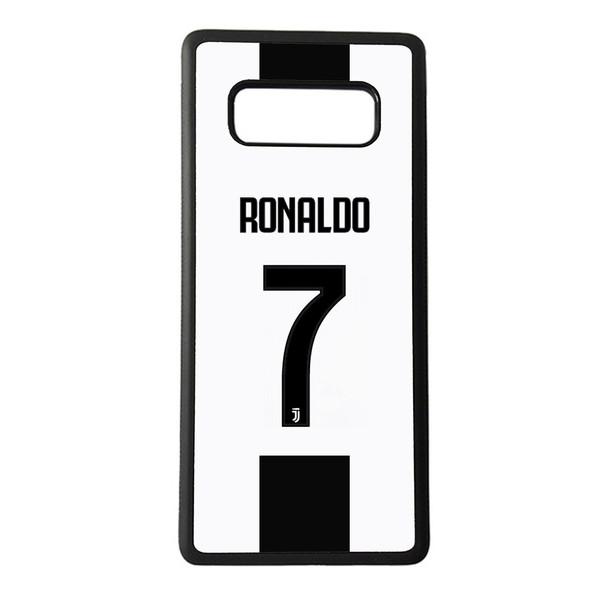 کاور طرح پیراهن رونالدو در یوونتوس کد 924 مناسب برای گوشی موبایل سامسونگ galaxy note 8