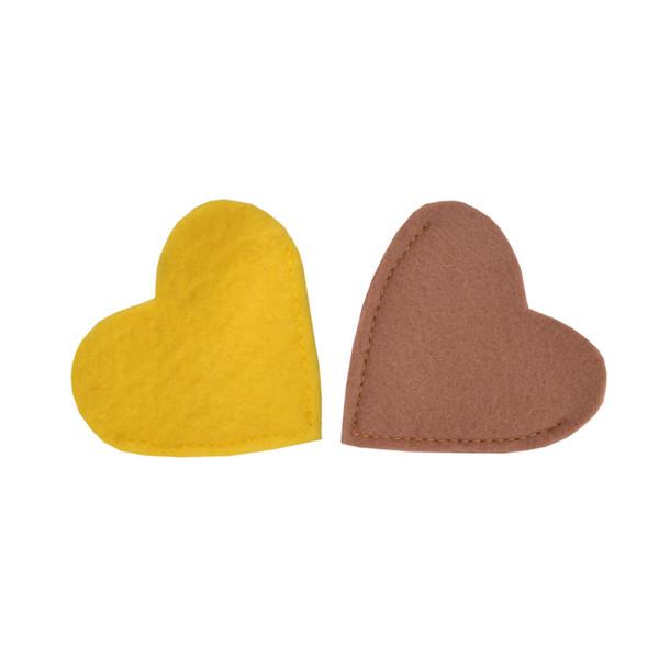 بوک مارک طرح قلب 4 بسته 2 عددی