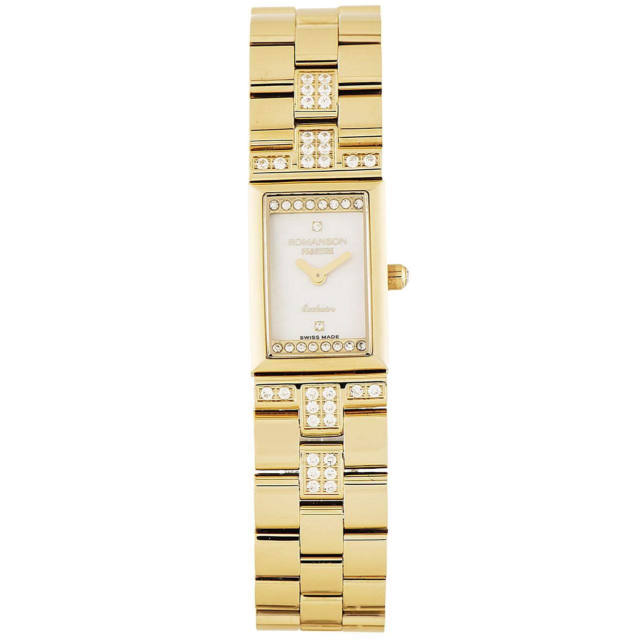 ساعت زنانه برند رومانسون مدل RM3255CL1GM11G