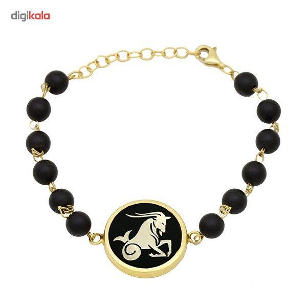 دستبند طلا 18 عیار ماهک مدل MB0135 - مایا ماهک -  - 2