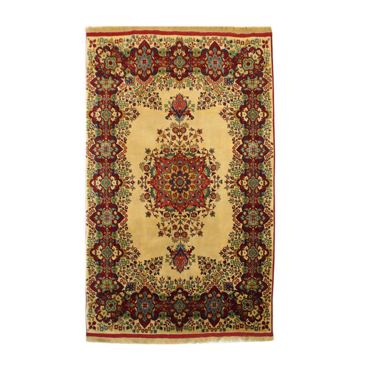 فرش دستبافت طرح قشقایی شش متری کد 1104504