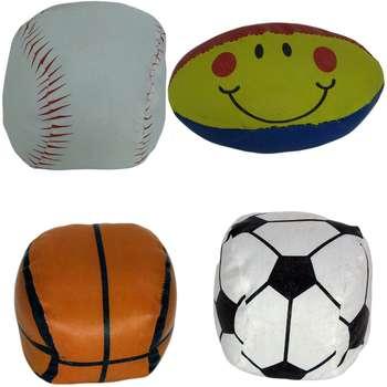 توپ اسباب بازی مدل Sport بسته 4 عددی