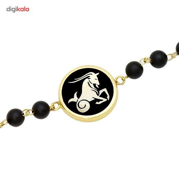 دستبند طلا 18 عیار ماهک مدل MB0135 - مایا ماهک -  - 1