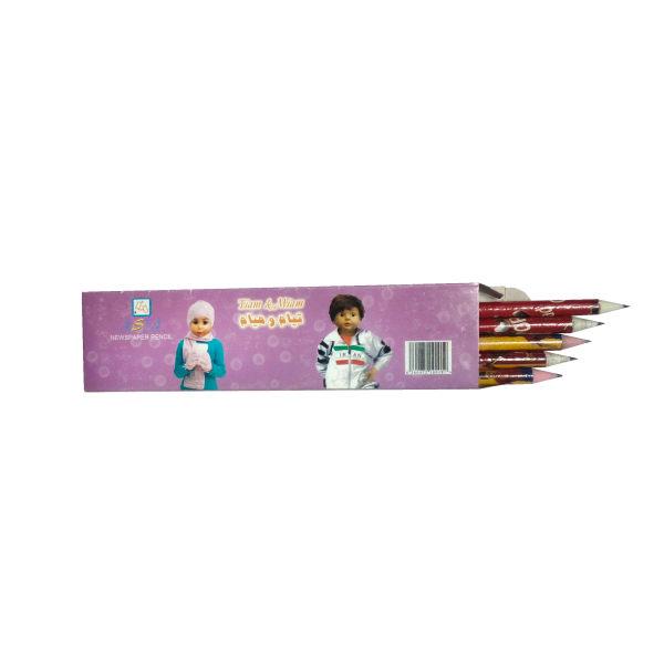 مداد آسیا مدل تیام و میام کد 11بسته 12 عددی