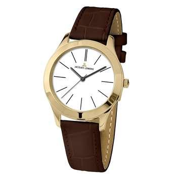 ساعت مچی عقربه ای زنانه ژاک لمن مدل 1-1840ZG