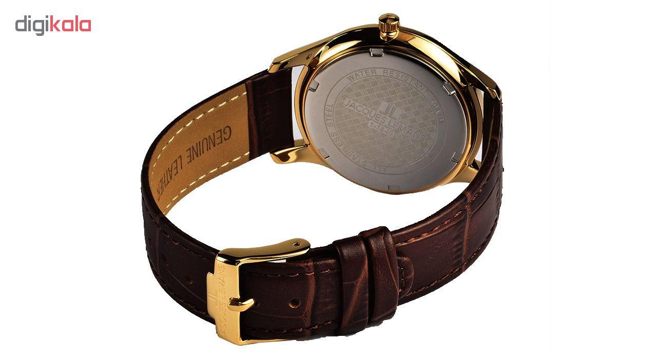کد تخفیف                                      ساعت مچی عقربه ای زنانه ژاک لمن مدل 1-1840ZG