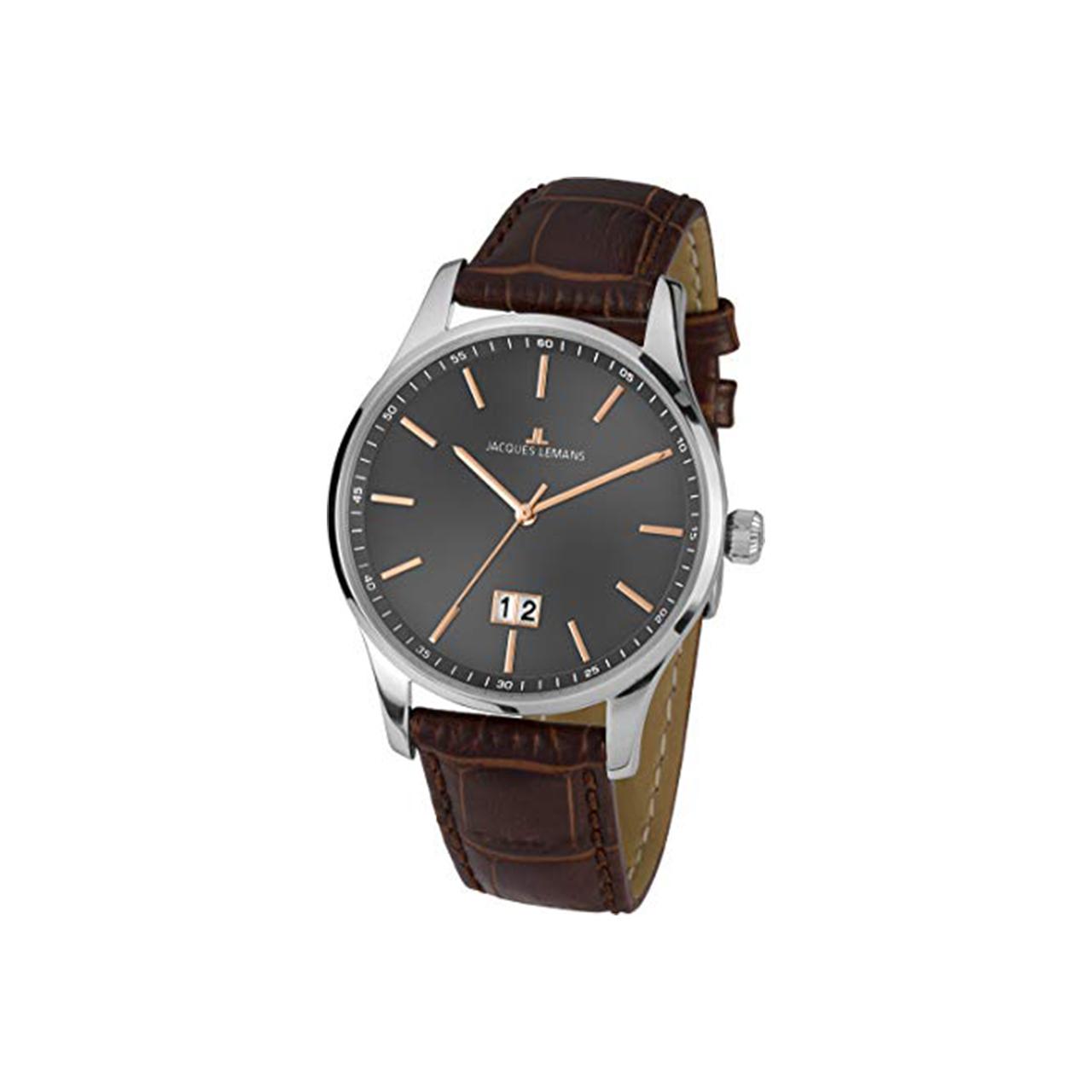 ساعت مچی عقربه ای مردانه ژاک لمن مدل 1-1862D