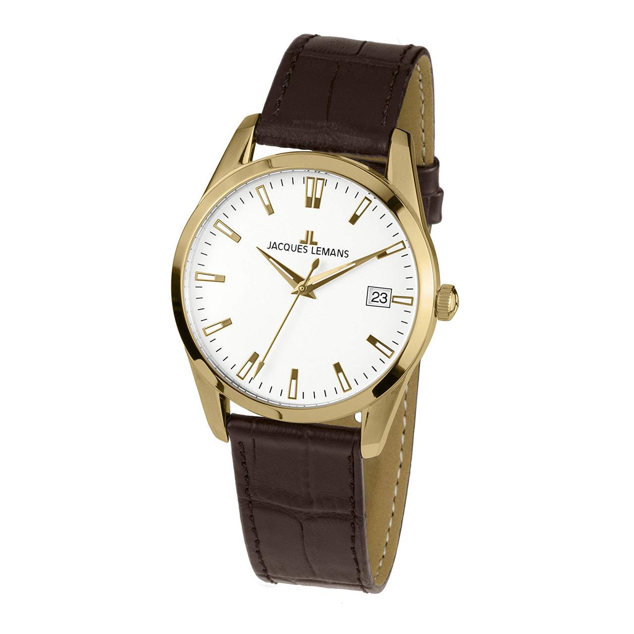 ساعت مچی عقربه ای مردانه ژاک لمن مدل 1-1769E